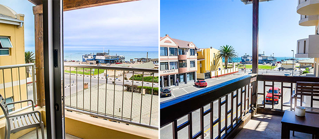Hotel Pension A La Mer, Swakopmund, Namibia, Accommodation, Sea view, restaurant, bar, breakfast, guest house, hotel, lodge, beach accommodation