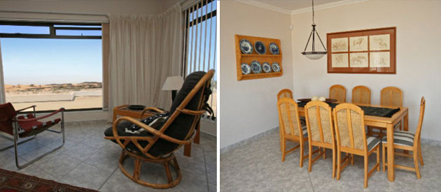 chala kigi, self catering apartments swakopmund, fully equipped accommodation swakopmund, namibia self catering, dstv, free wifi swakopmund